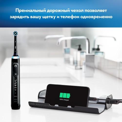 Электрическая зубная щетка Oral-B Genius X 20000N Black D706.515.6X
