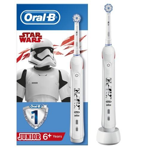 Детская электрическая зубная щетка Oral-B Pro 2  Junior Sensi Звездные Войны D501.513.2