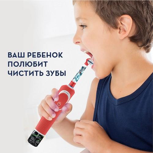 Набор: Электрическая зубная щетка Oral-B Genius 10000N Purple + Детская электрическая зубная щетка Oral-B Vitality Kids Pixar