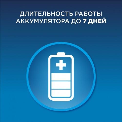 Набор Oral-B PRO 560: электрическая зубная щетка Oral-B PRO 500 + 2 насадки CrossAction EB 50