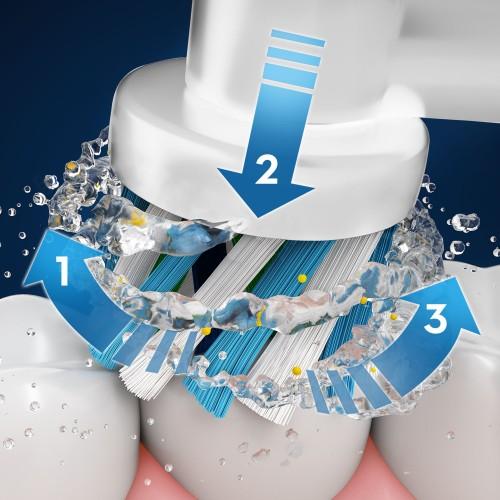 Электрическая зубная щетка Oral-B PRO 500 + 2 насадки CrossAction EB 50