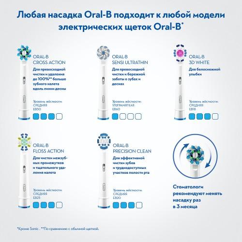 Электрическая зубная щетка Oral-B Vitality Sensi White D100.413.1