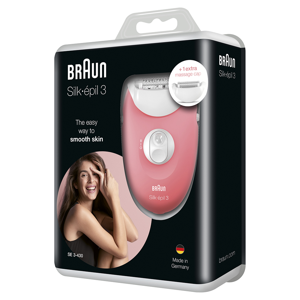 Эпилятор Braun Silk-epil 3 SE 3-430