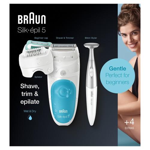 Эпилятор Braun Silk-epil 5 SensoSmart 5/810