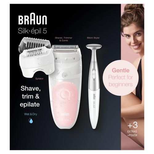 Эпилятор Braun Silk-epil 5 SensoSmart 5/820
