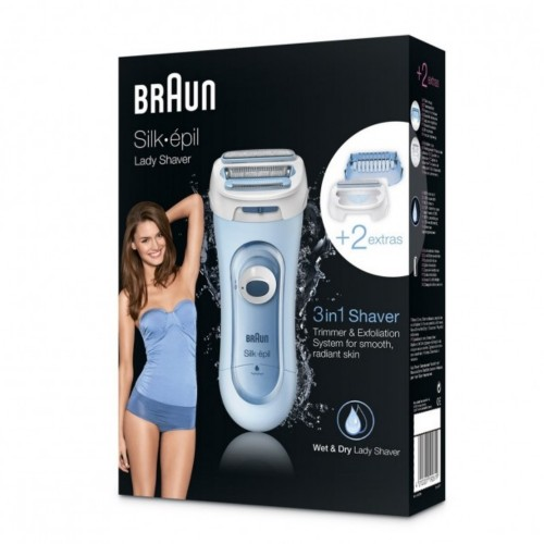 Электробритва для женщин Braun Silk-epil LS 5160 Wet&Dry 3-в-1