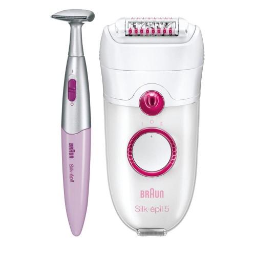 Эпилятор Braun Silk-epil 5 5380 + стайлер для бикини