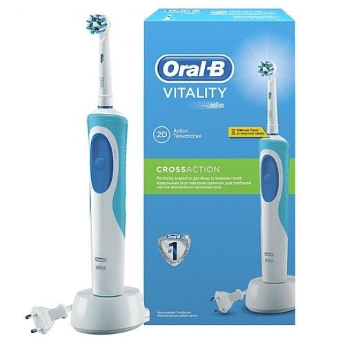 Эпилятор Braun Silk-epil 5 5-511 + Электрическая зубная щетка Oral-B Vitality CrossAction D12.513