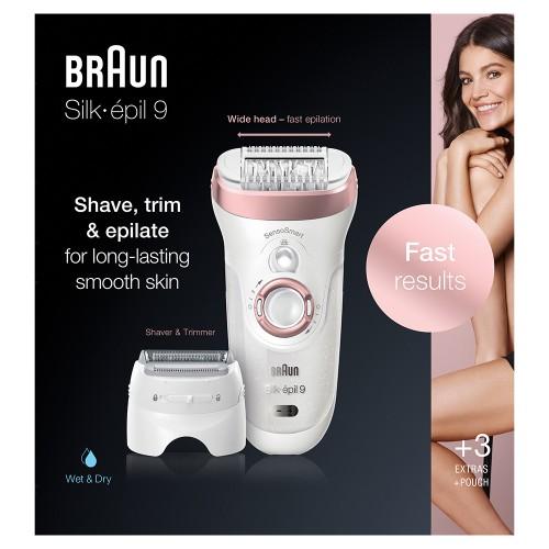 Эпилятор Braun Silk-epil 9 SensoSmart 9/720