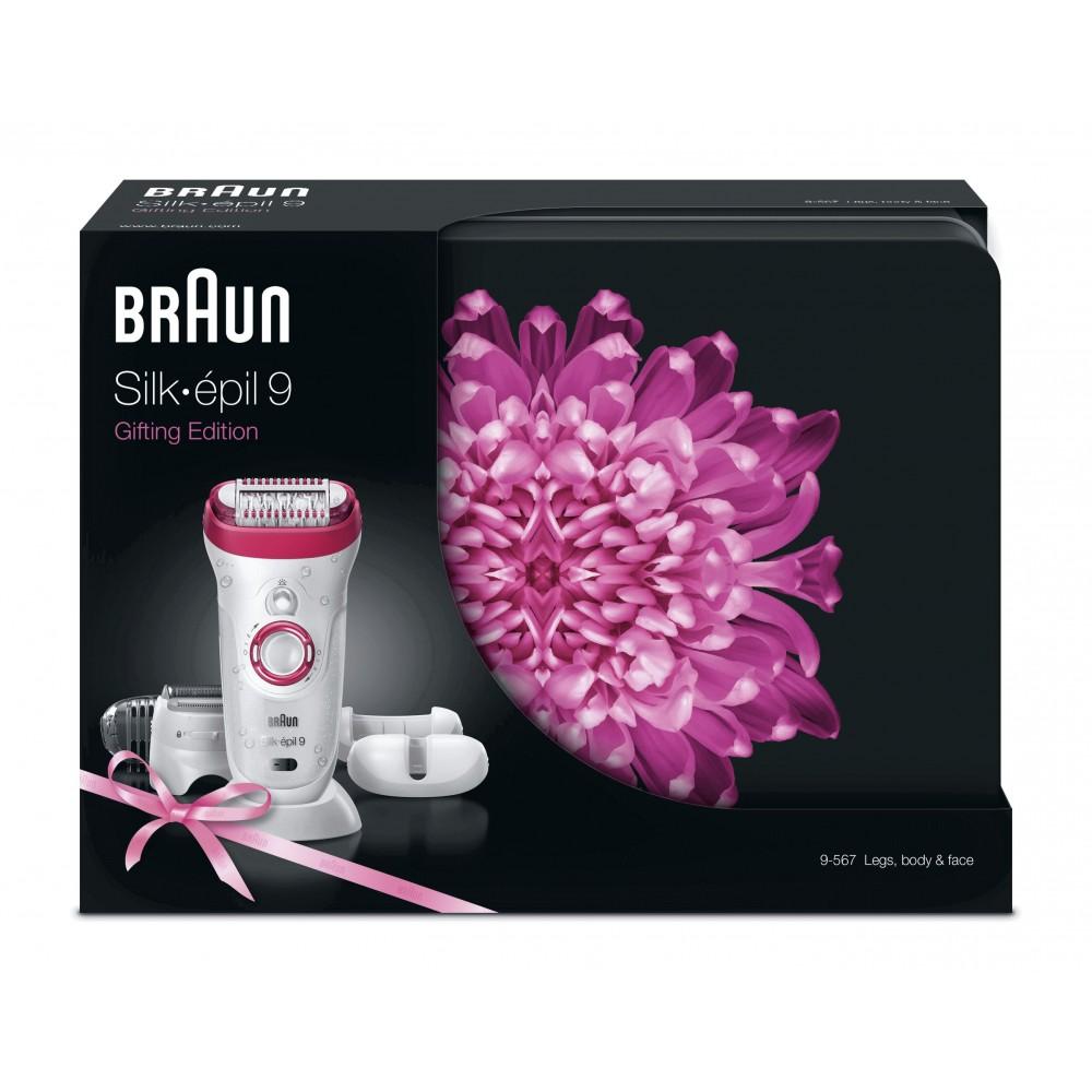 Эпилятор Braun Silk-epil 9 - 9567