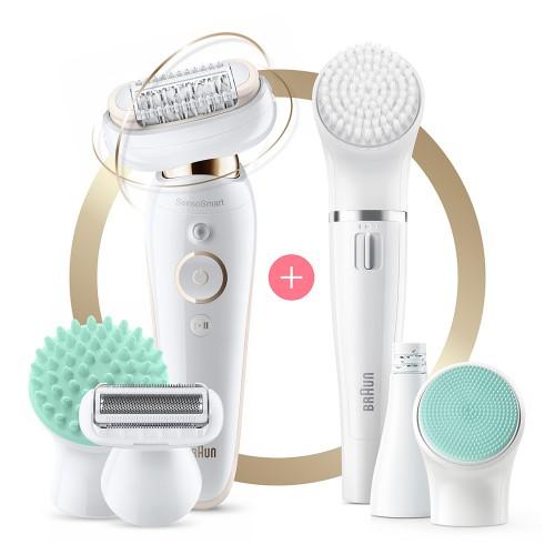 Набор для эпиляции и ухода за кожей Braun Silk-epil 9 Flex Beauty Set SES 9300