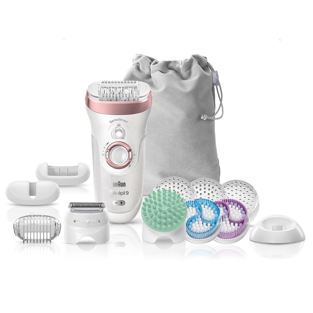 Эпилятор Braun Silk-epil 9 SkinSpa SensoSmart 9/990 Wet & Dry 4 в 1