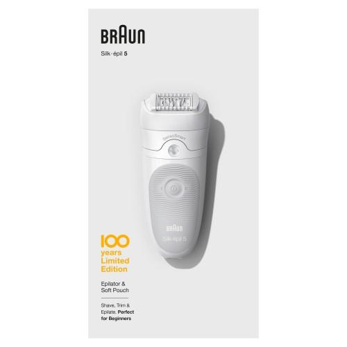 Эпилятор Braun Silk-epil 5 SensoSmart  Max Braun 100 Years Юбилейная cерия