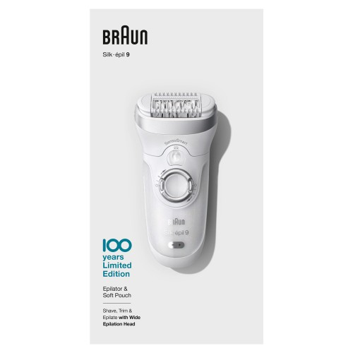 Эпилятор Braun Silk-epil 9 SensoSmart Max Braun 100 Years Юбилейная cерия