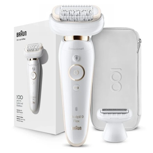 Эпилятор Braun Silk-epil 9 Flex Max Braun 100 Years Юбилейная cерия