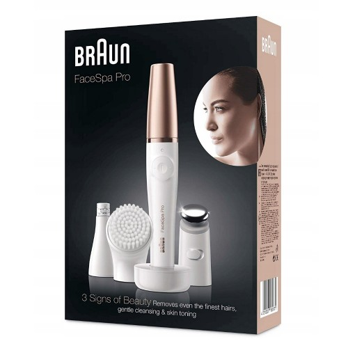 Прибор для ухода за лицом Braun FaceSpa Pro 912