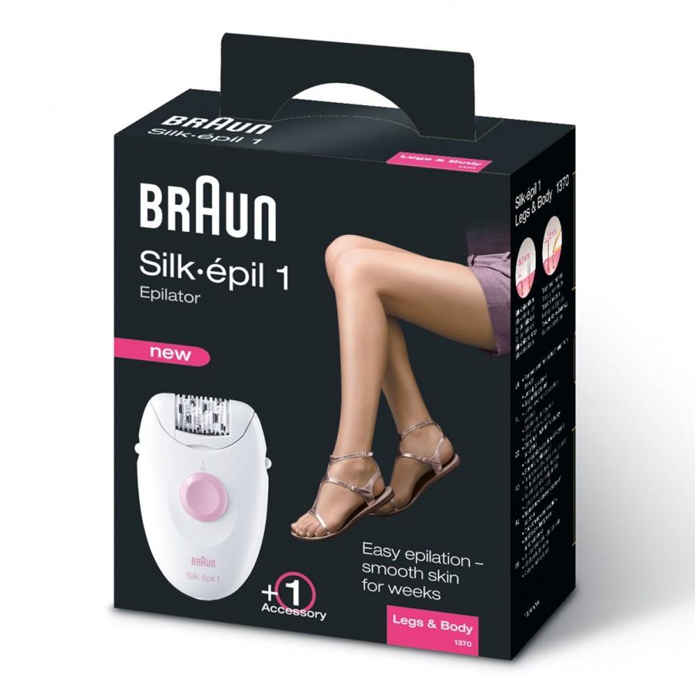 Эпилятор Braun Silk-epil 1 1370