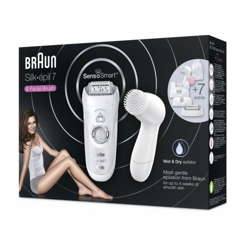 Эпилятор Braun Silk-epil 7 SensoSmart 7/860