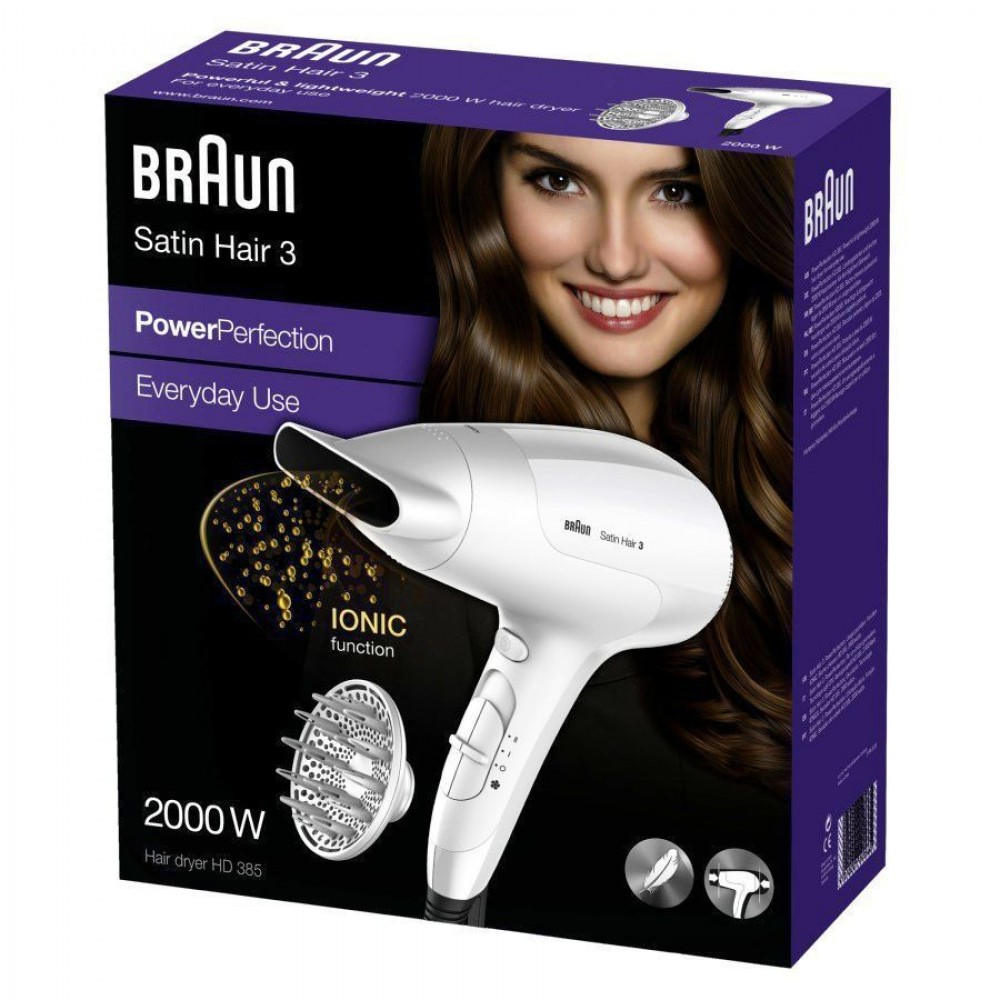 Фен Braun Satin Hair 3 PowerPerfection HD385