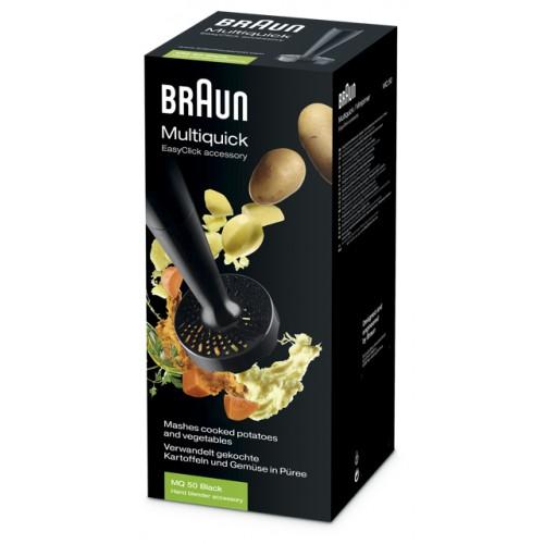 Насадка для приготовления пюре Braun MQ50 Черный