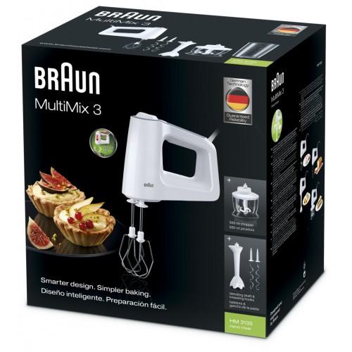 Миксер Braun MultiMix 3 Hand mixer HM3135