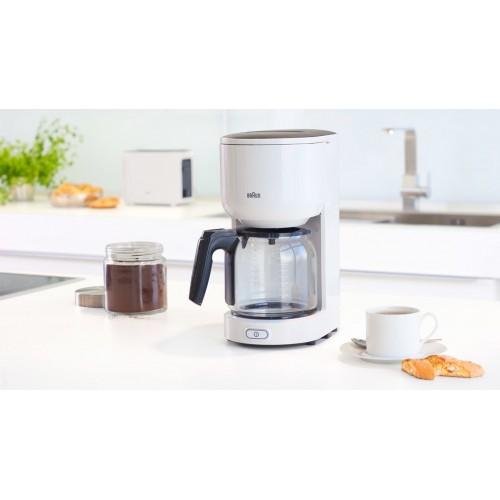 Капельная кофеварка Braun PurEase KF 3100 WH белый