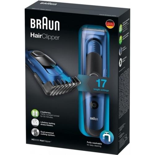Машинка для стрижки волос Braun HC5030