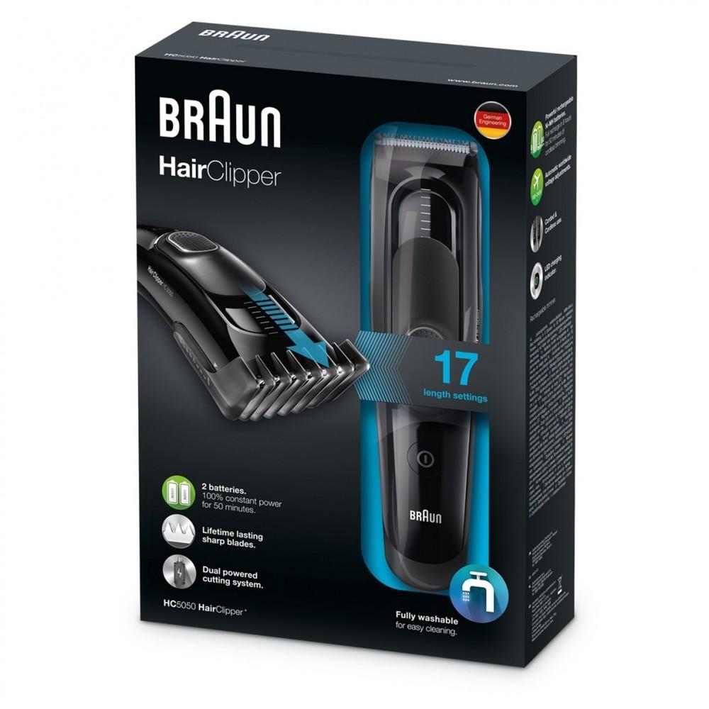Машинка для стрижки волос Braun HC5050