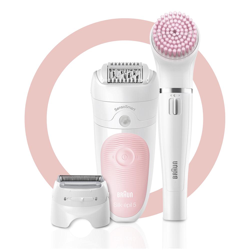Набор для эпиляции и ухода за кожей Braun Silk-epil 5 Beauty Set SES 5-895