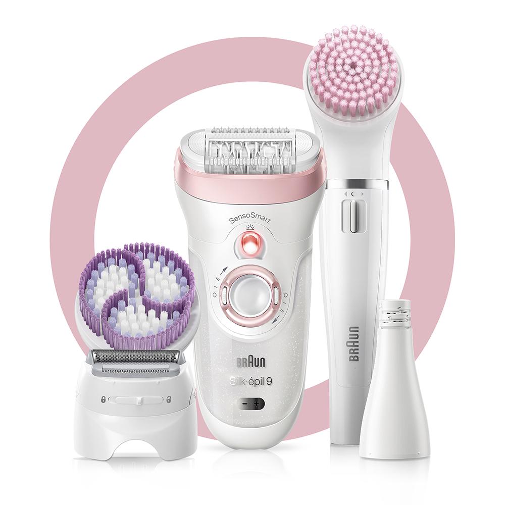 Набор для эпиляции и ухода за кожей Braun Silk-epil 9 Beauty Set SES 9-975