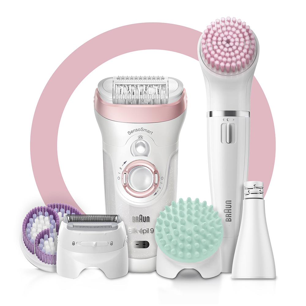 Набор для эпиляции и ухода за кожей Braun Silk-epil 9 Beauty Set SES 9-985