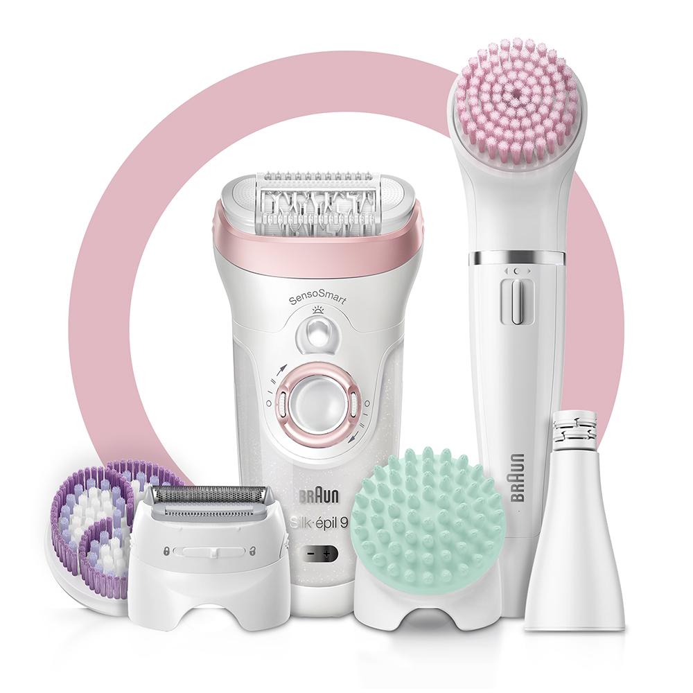 Набор для эпиляции и ухода за кожей Braun Silk-epil 9 Beauty Set SES 9-995