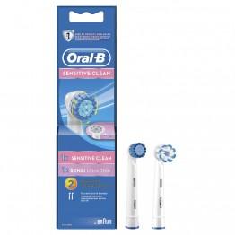 Насадка для зубных щеток Oral-B Sensitive Clean EB17S-1 и Sensi Ultrathin EB60-1 (2шт)