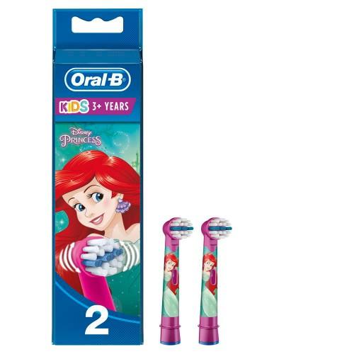 Насадка для зубных щеток Oral-B Stages Kids EB10 Русалочка (2 шт)