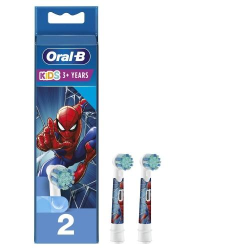 Насадка для зубных щеток ORAL-B Kids EB10S 2K Spiderman (2 шт)