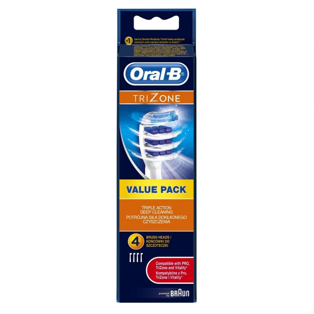 Насадка для зубных щеток Oral-B TriZone EB 30-4 (4 шт)