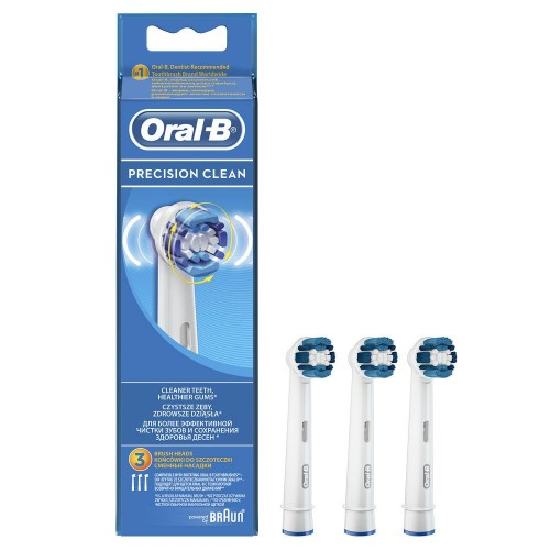 Насадка для зубных щеток Oral-B Precision Clean EB 20-3 (3 шт)