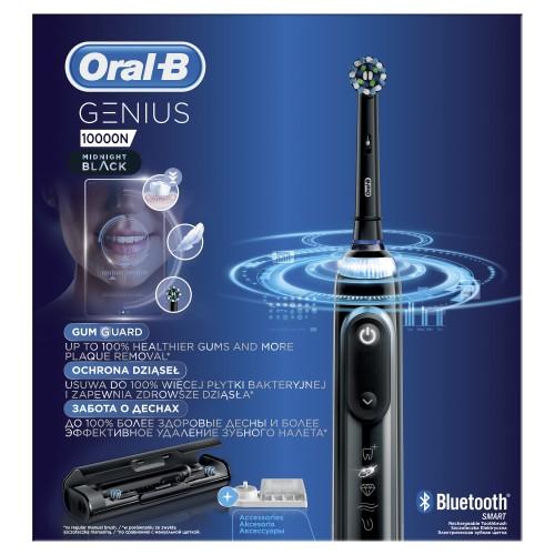 Электрическая зубная щетка Oral-B Genius 10000N Black D 701.525.6XC