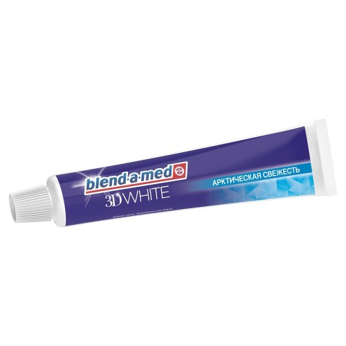 Зубная паста BLEND-A-MED 3D White Арктическая свежесть 50мл