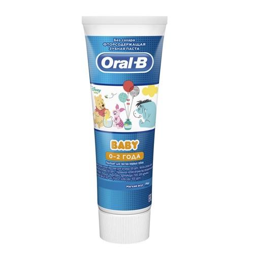 Детская зубная паста Oral-B Baby Винни Пух, 75 мл.