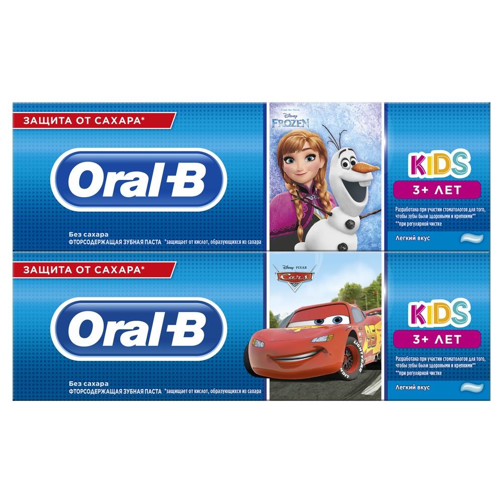 Детская зубная паста Oral-B Kids Тачки и Холодное сердце
