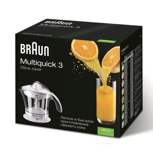 Цитрусовая соковыжималка Braun MPZ9WH белая