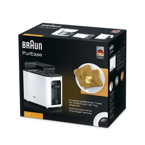 Тостер Braun PurEase HT3010WH белый