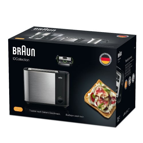 Тостер Braun ID Breakfast Collection HT5000 черный