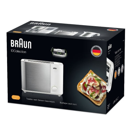 Тостер Braun ID Breakfast Collection HT5000 белый