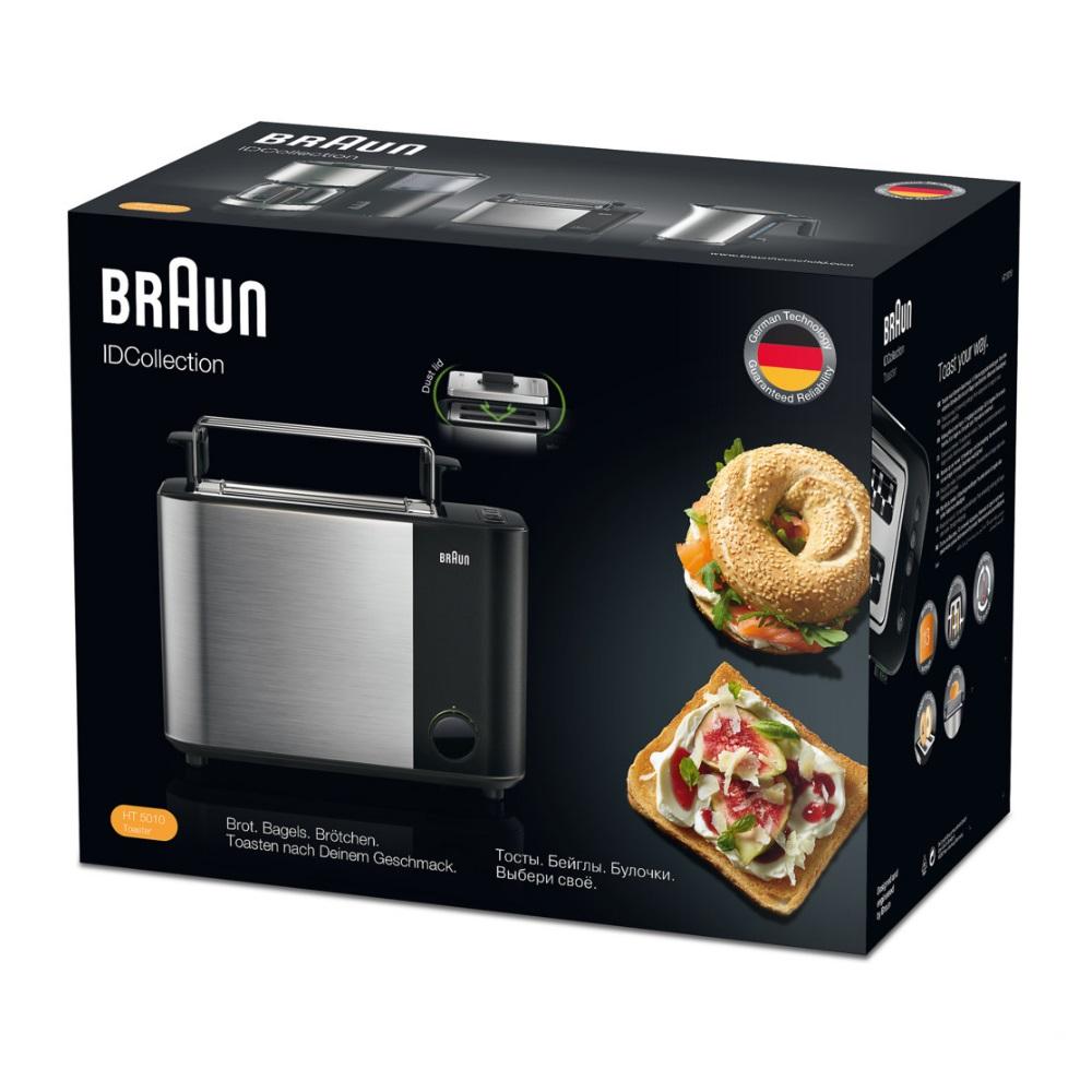 Тостер Braun ID Breakfast Collection HT5010 черный