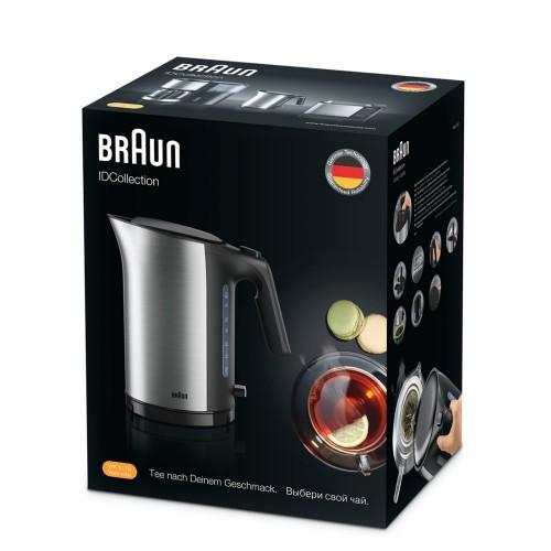 Набор Braun ID Breakfast Collection: Чайник WK5100BK + Тостер HT5010BK черный