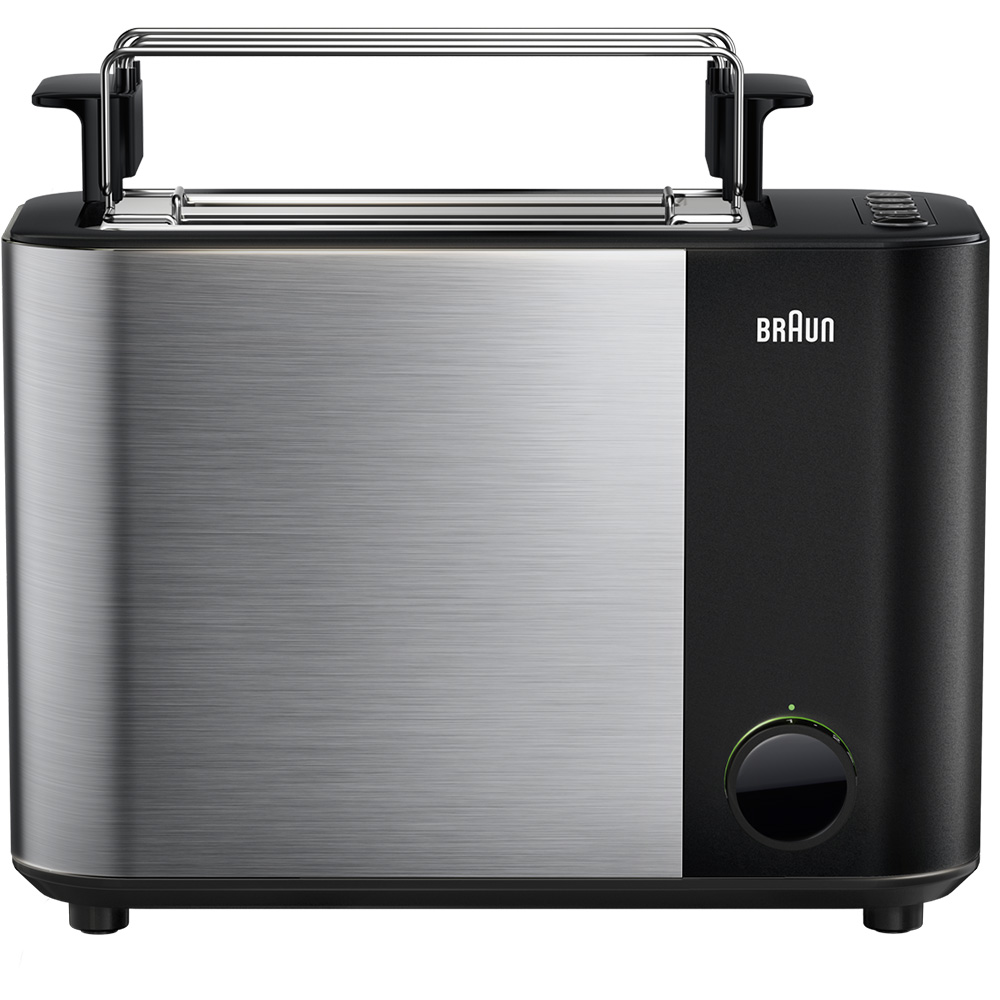 Тостер Braun ID Breakfast Collection HT5015 черный