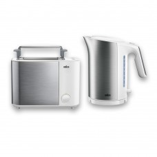 Набор Braun IDCollection: Чайник WK5100 + Тостер HT5010 Белый