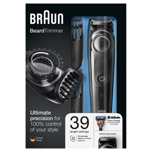 Триммер для бороды Braun BT3042 + Бритва Gillette